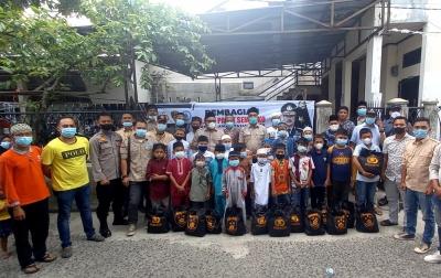 Yayasan MAPEL Indonesia Salurkan 1.200 Paket Sembako dari Kabareskrim Polri