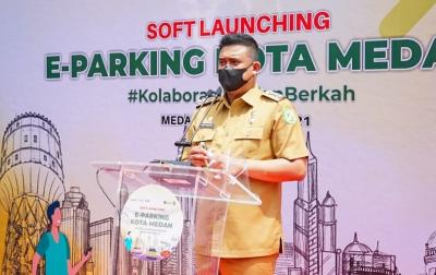 Peluncuran E-Parking, Bobby: Banyak Jukir Kayak Ninja