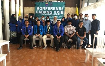 Aklamasi, Dicky Erianda Saragih Pimpin PC PMII Asahan 2021-2022