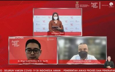 175 Juta Dosis Vaksin Covid-19 Telah Disuntikkan di Indonesia, Terbukti Efektif