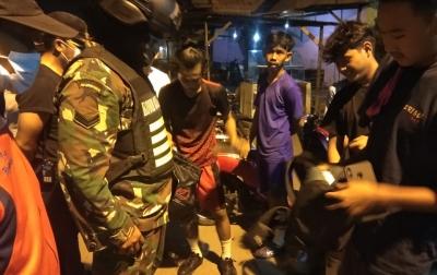 Jaga Kamtibmas di Tanjung Mulia Hilir, Lurah Bersama TNI-Polri Patroli Rutin