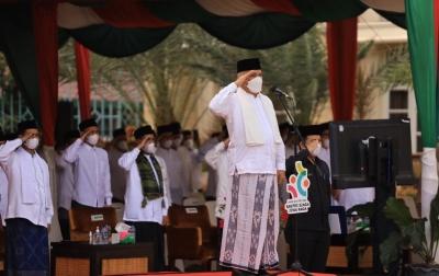Pemerintah Aceh Peringati Hari Santri, Pejabat Pakai Kain Sarung