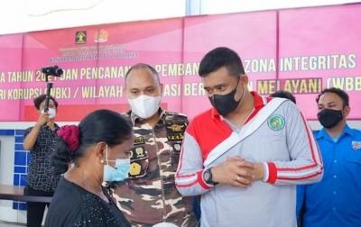 Vaksinasi di Kota Medan Capai 65.25 Persen