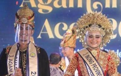 Akkral dan Salwa Dinobatkan Sebagai Duta Wisata Aceh 2021