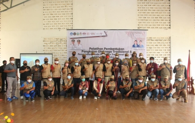 KPOTI Sumut Laksanakan Pelatihan Pembentukan Pangkotrad di Toba