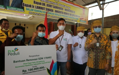 PLN UIW Sumut Salurkan Bantuan TJSL di 2 Kabupaten