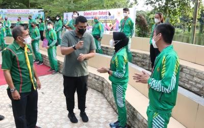 Apresiasi Atlet Medan Peraih Medali di PON Papua, Bobby Gelontorkan Bonus
