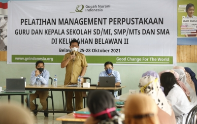 Kadis Perpustakaan Medan Dukung Kolaborasi GNI-Perpustakaan UMSU Tingkatkan Literasi